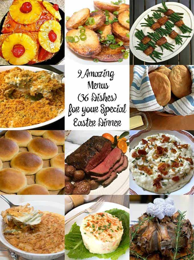 9 amazing Easter menus