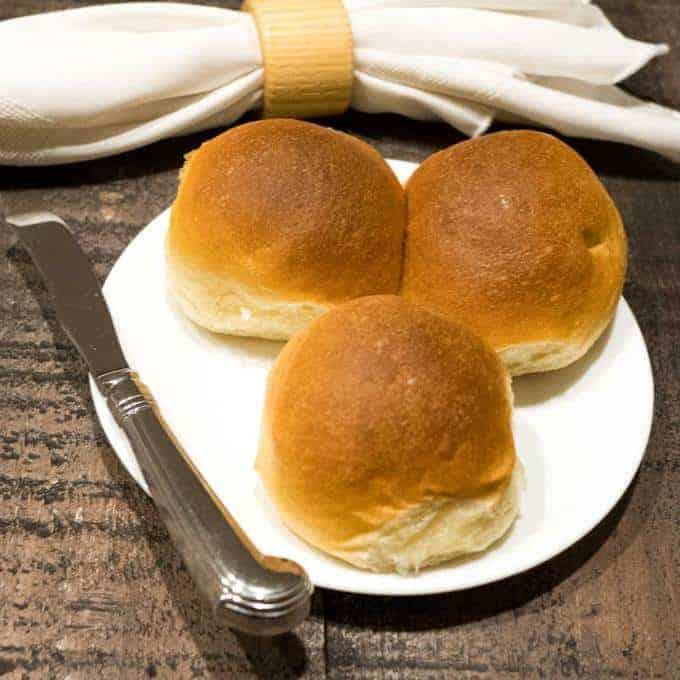 buttery dinner rolls bread machine