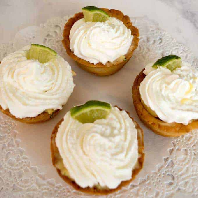 Mexican Key Lime Tartlets