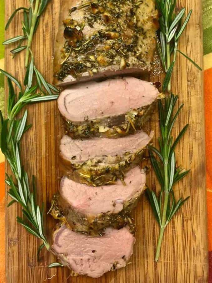 Herb Crusted Pork Tenderloin