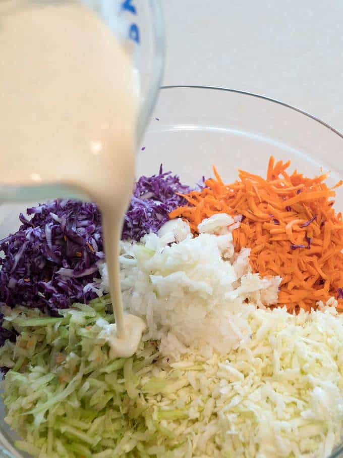 Creamy Southern Coleslaw