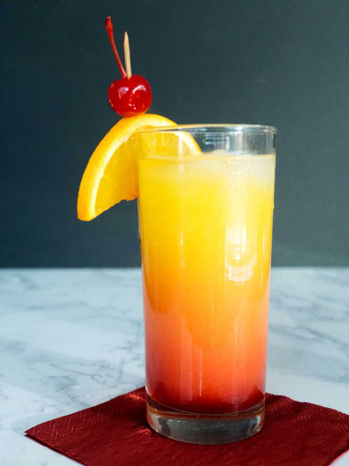 Simple tequila sunrise for cinco de mayo the pudge factor for Best tequila for tequila sunrise