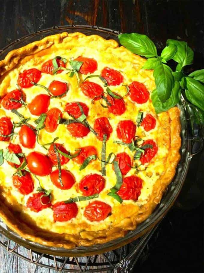 Cherry Tomato Pie