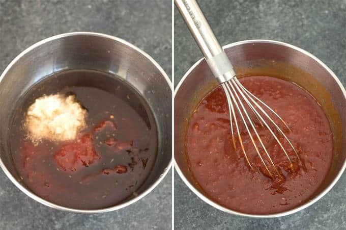 Making Cocktail Sauce