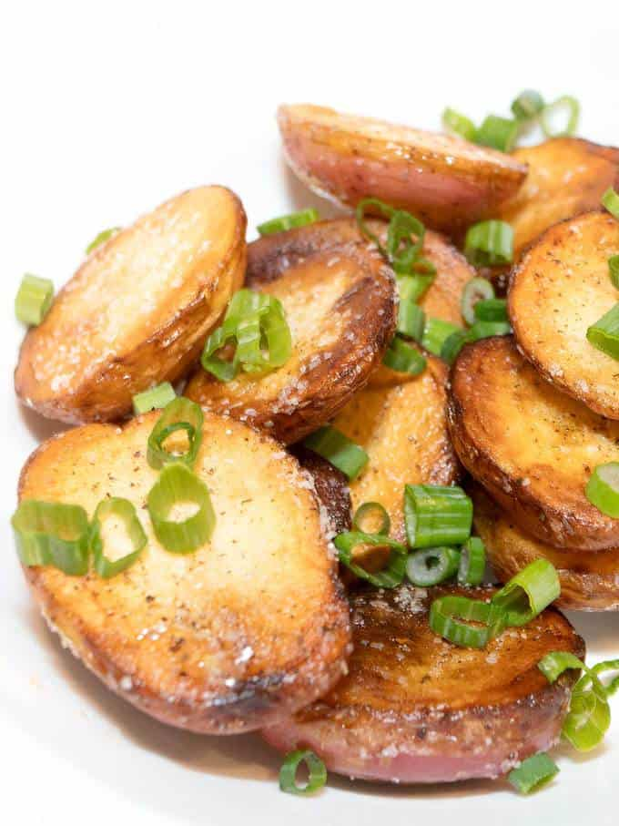 Easy Stove Top Roasted Potatoes