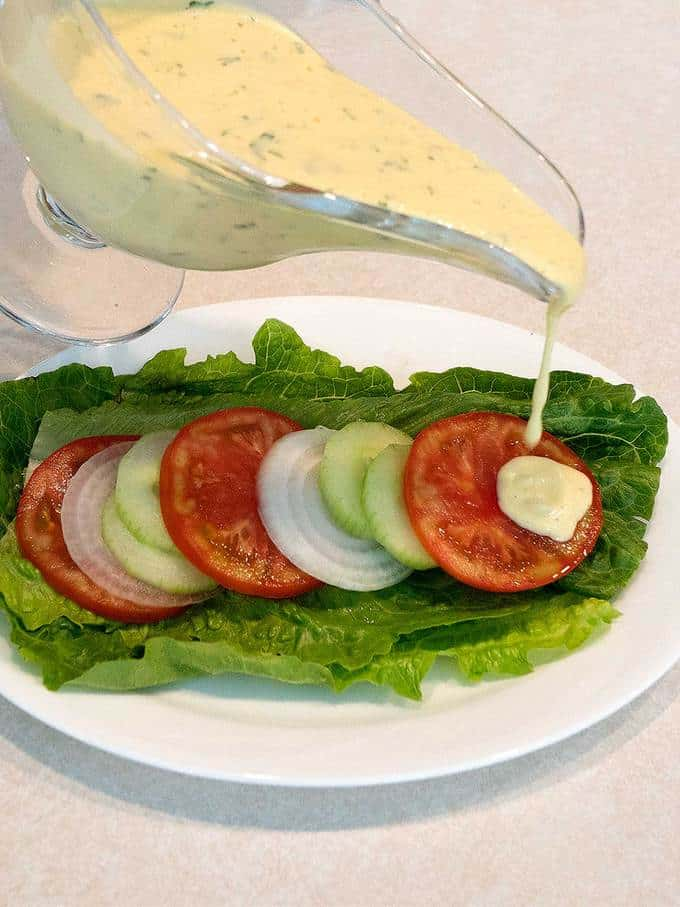 Tomato onion and cucumber summer salad