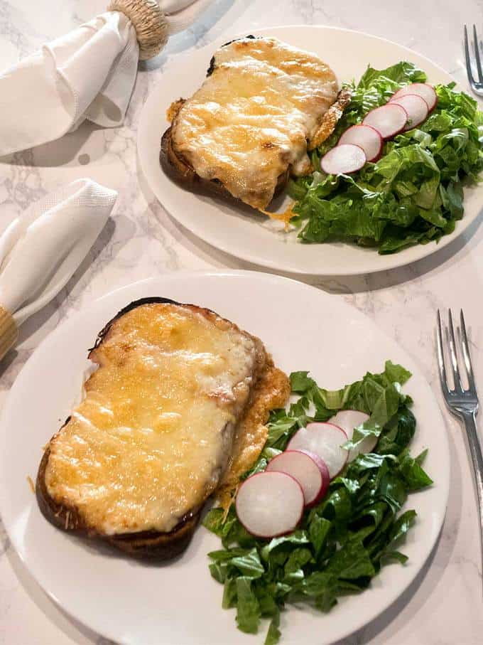 Croque Monsieur and Madame