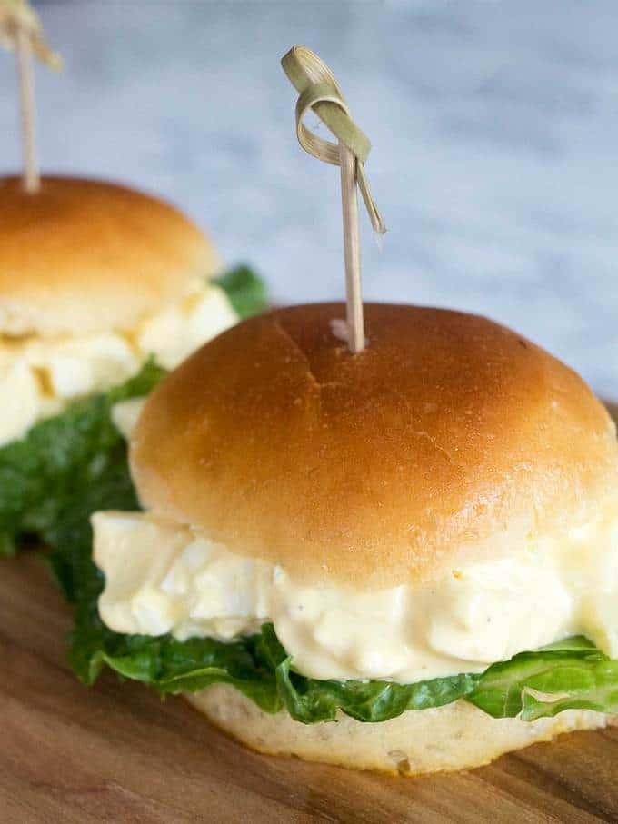 Tasty Egg Salad Sliders