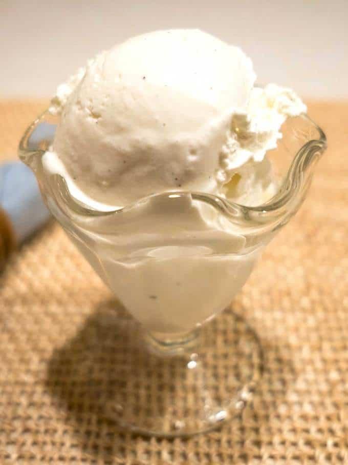 Vanilla Ice Cream - Philadelphia Style