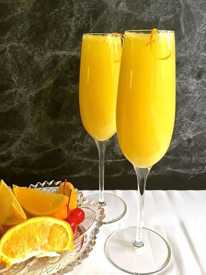 Classic Mimosa with a Twist