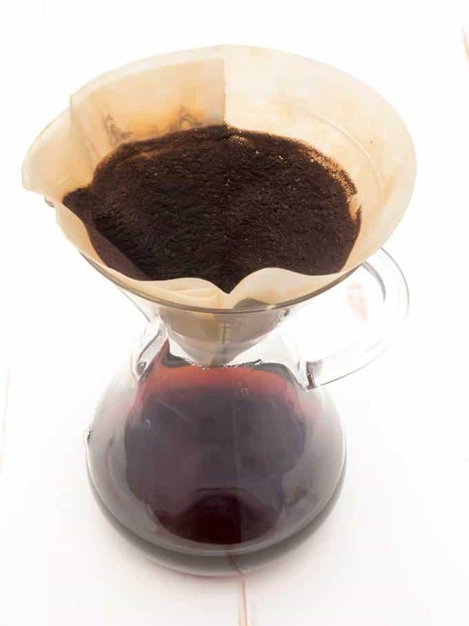 Fresh pot of coffee