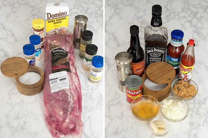 Ingredients for Grilled Ribs