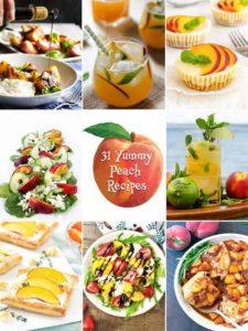 31 Yummy Peach Recipes
