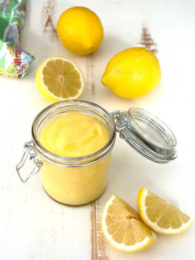 Classic English Lemon Curd - The Pudge Factor