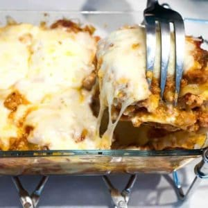Six Cheese Turkey Lasagna