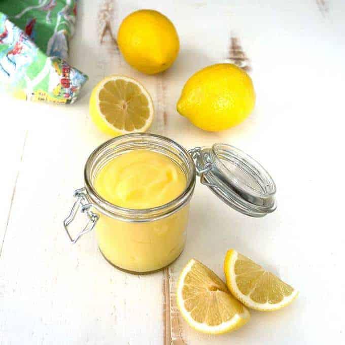 Classic English Lemon Curd