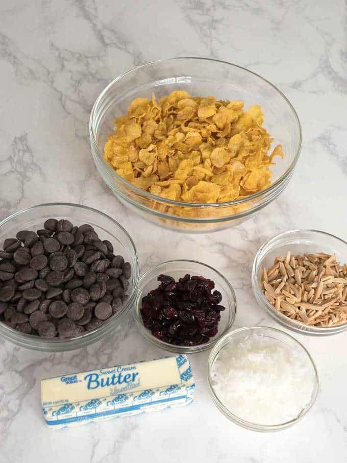 Ingredients for Desert Roses