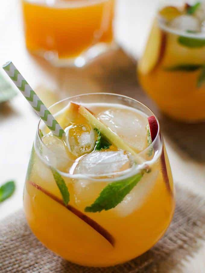 Peach Flavored Perfect Lemonade