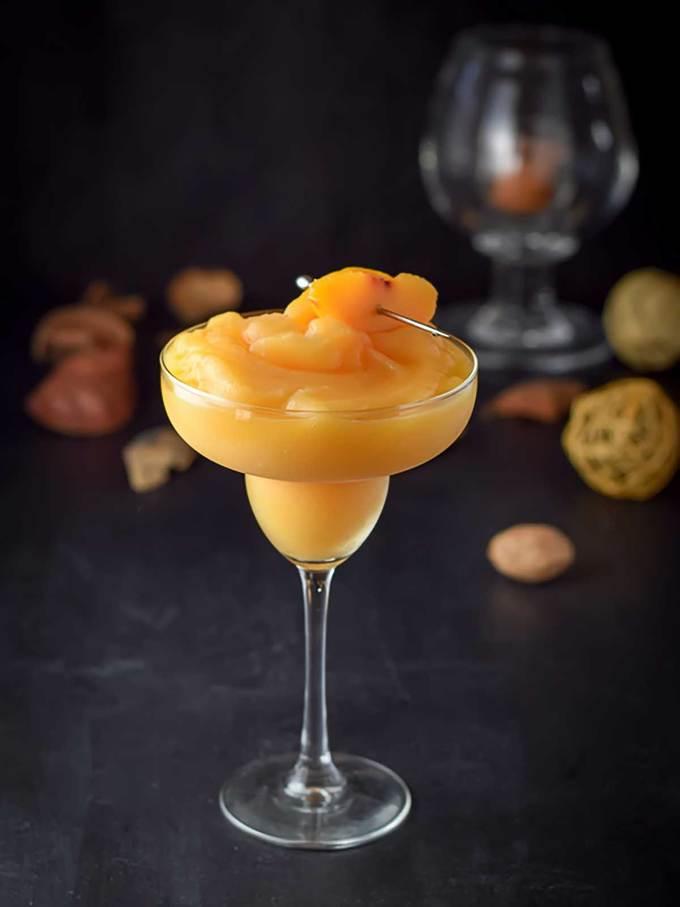 Pretty Perfect Peach Margarita