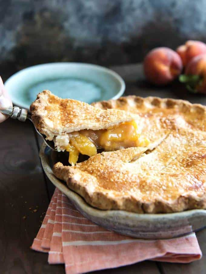 Southern Peach Pie Perfection