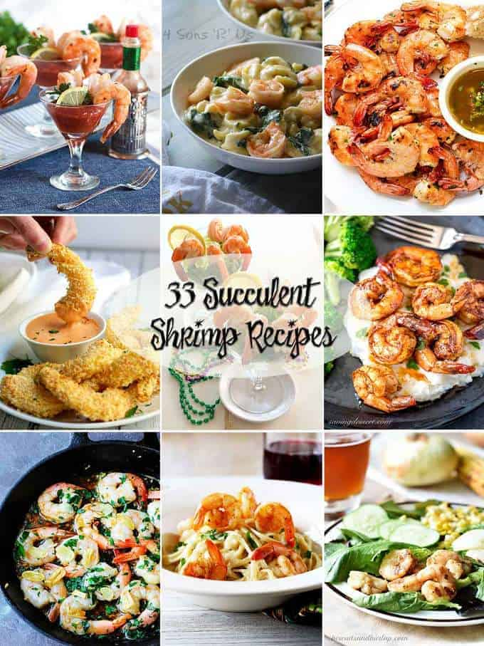 33 Succulent Shrimp Recipes