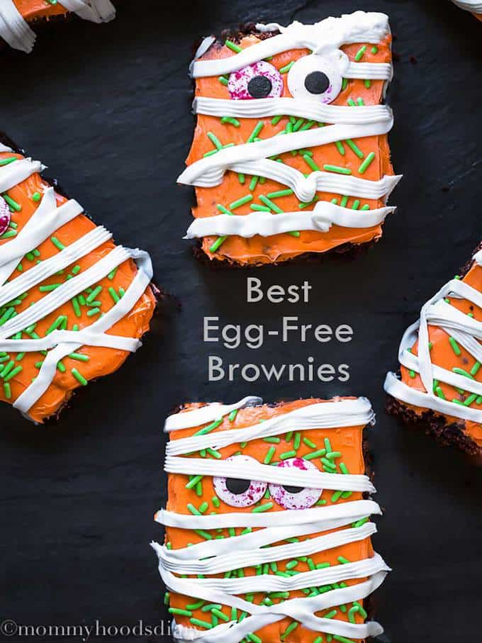 Best Egg Free Fudgy Brownies