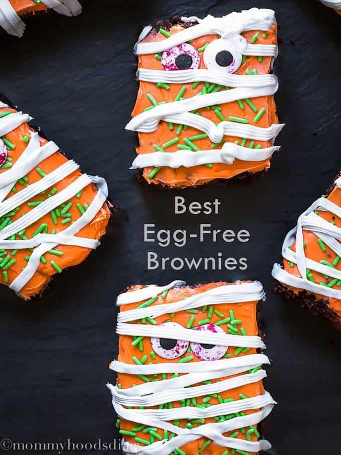 Best Egg Free Fudgy Brownies