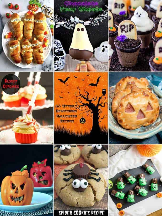 33 Utterly Bewitching Halloween Recipes
