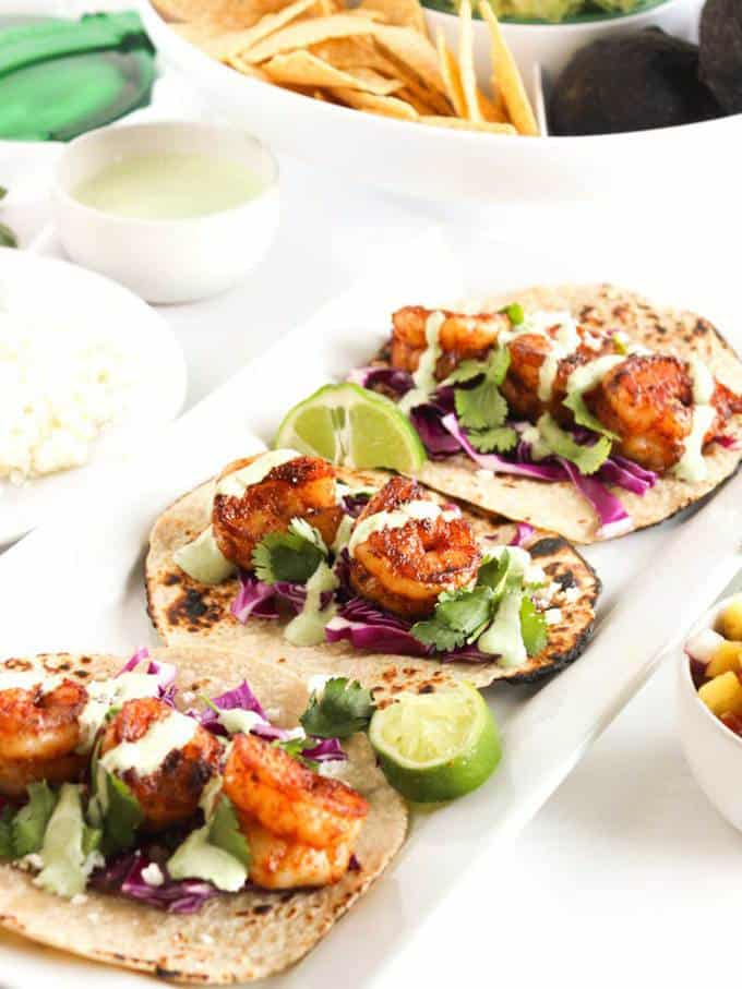 Easy Chipotle Shrimp Tacos