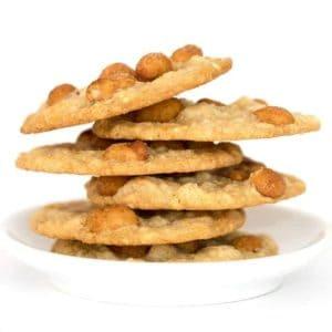 Skinny Peanut Cookies from Maida Heatter