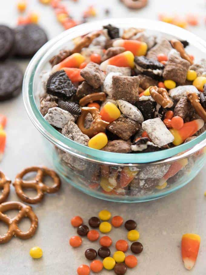 Halloween Chex Mix Muddy Buddies