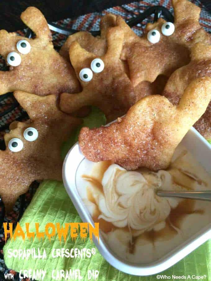 Halloween Sopapilla Crescents
