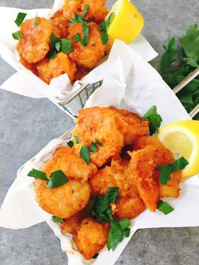 Quick and Easy Crispy Buffalo Shrimp