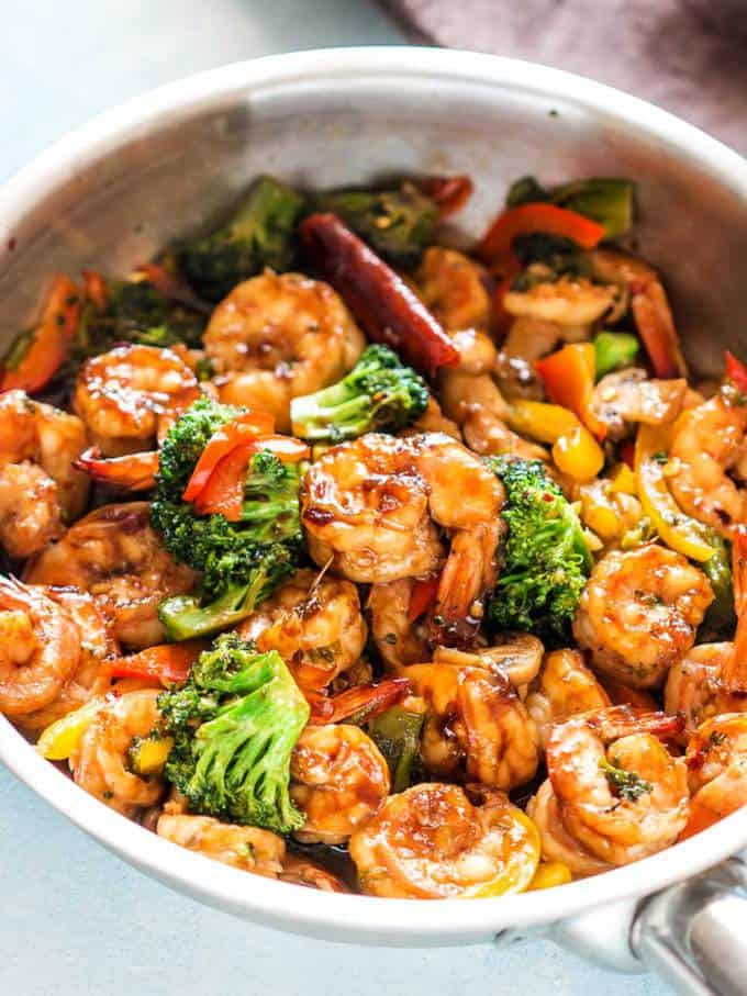 Teriyaki Shrimp Broccoli Stir Fry