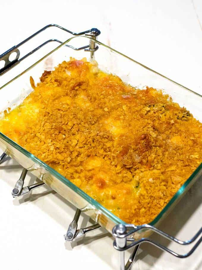 Easy Chicken Rice and Broccoli Casserole
