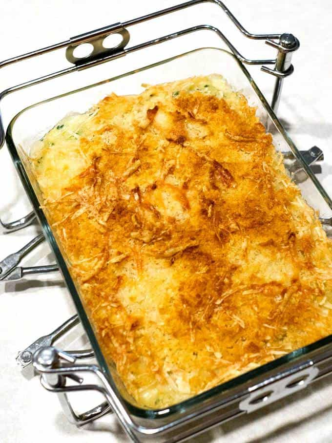 Easy Make Ahead Zucchini Gratin