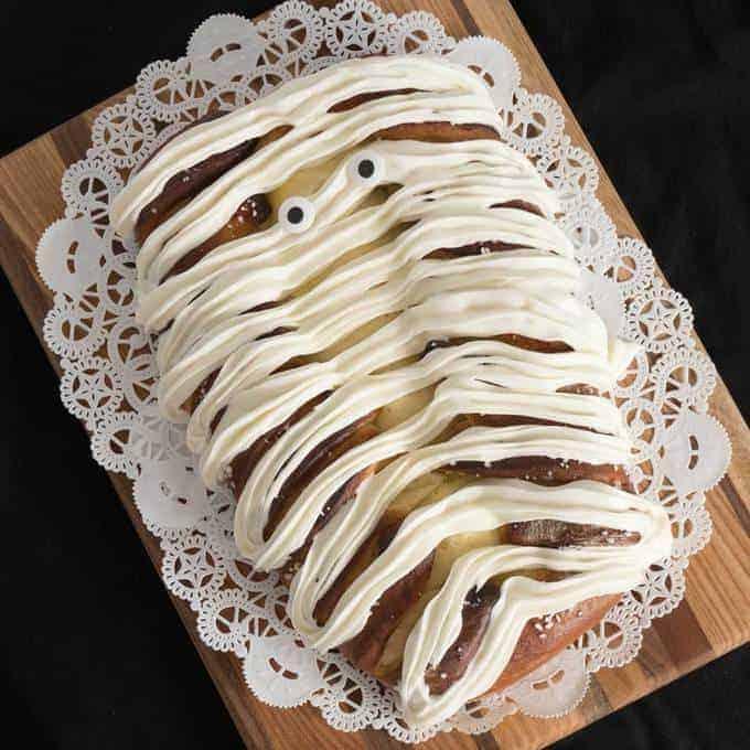 Yummy Mummy Lemon Curd Bread
