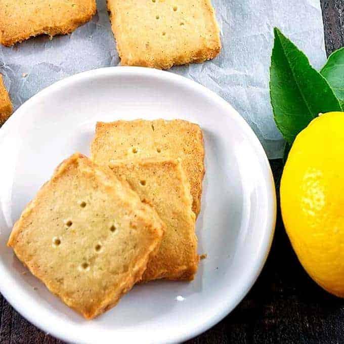 Meyer Lemon Sables