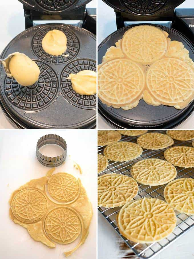 Making the Classic Pizzelles