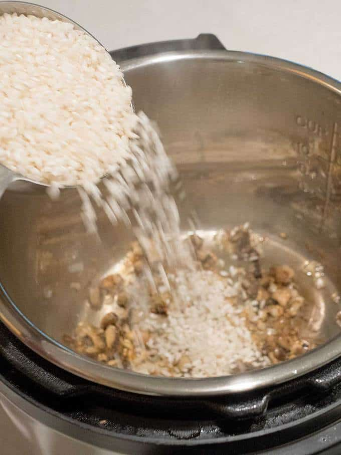 Adding Rice to the Instant Pot