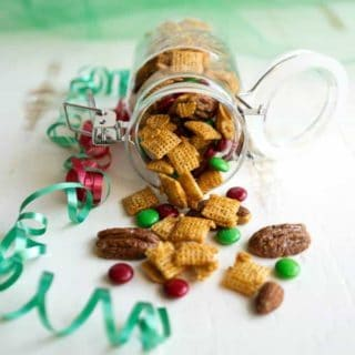 Holiday Caramel Chex Mix
