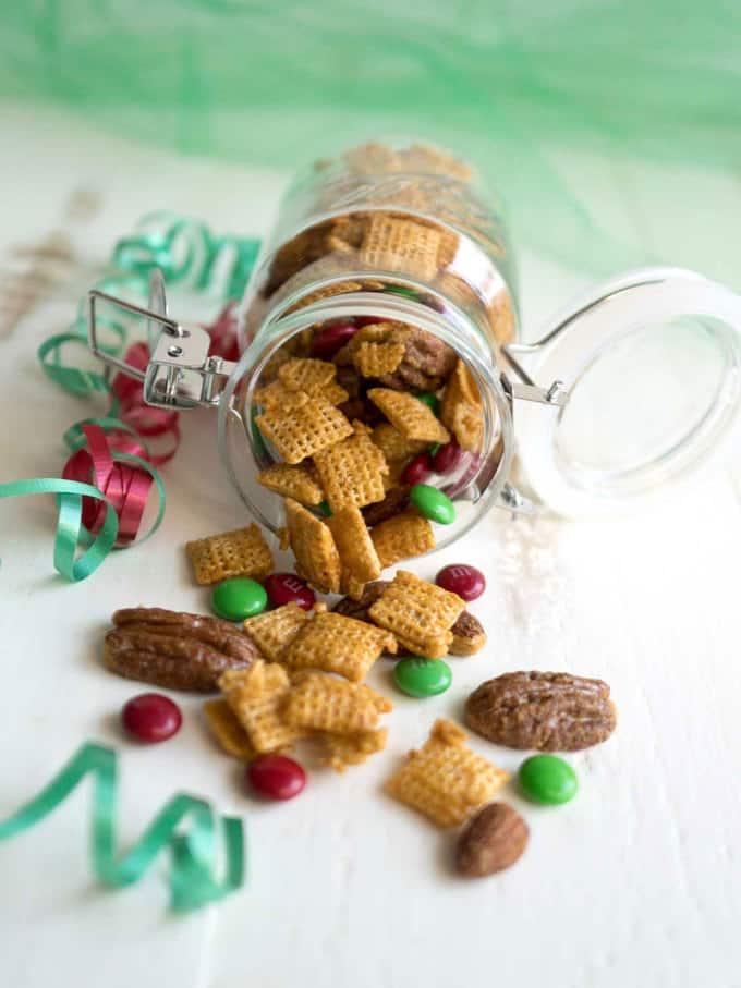 Holiday Caramel Chex Mix
