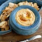 Classic Hummus with Roasted Garlic