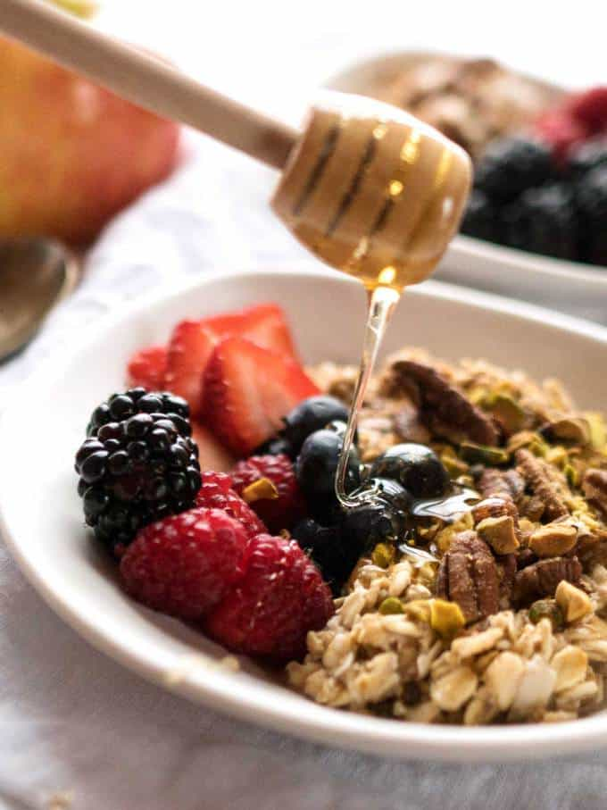 Toasted Fruit and Nut Muesli