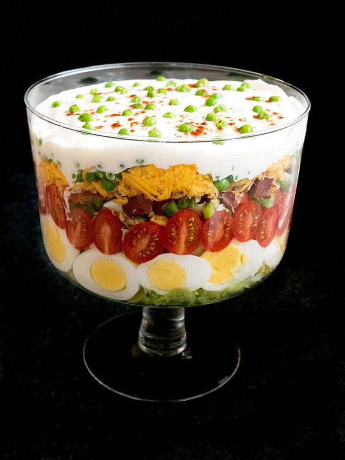 Classic Southern 7-Layer Salad