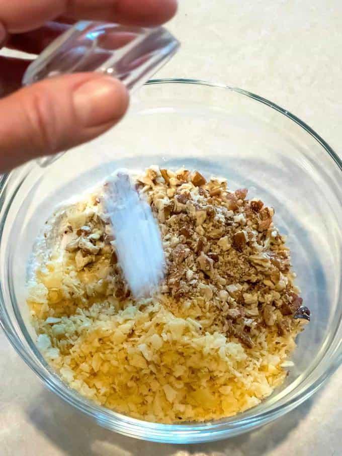 Adding Salt to Dry Ingredients