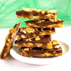 Chocolate Almond Toffee