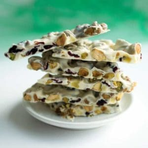 5-Minute White Chocolate Holiday Bark