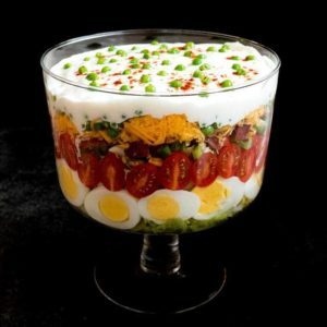 Classic Southern Seven-Layer Salad