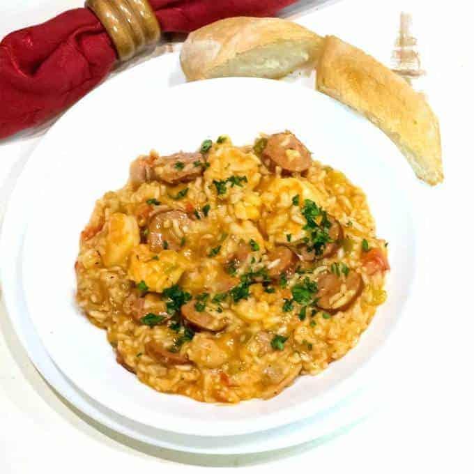 Spicy New Orleans Jambalaya